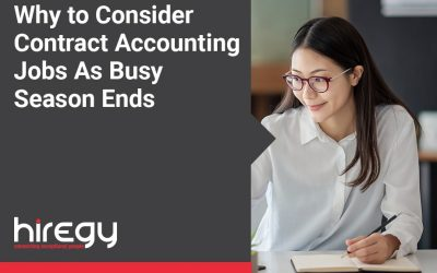 Why You Should Consider Contract Accounting Jobs As Busy Season Ends
